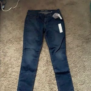 dark washed old navy jeans